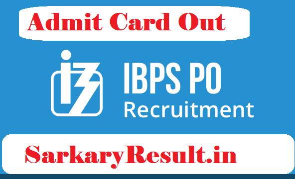 IBPS CWE PO X Pre Admit Card 2020
